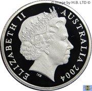 1 Dollar - Elizabeth II (4th Portrait - Masterpieces in Silver - Waltzing Matilda) -  obverse