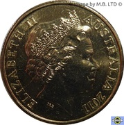 1 Dollar - Elizabeth II (4th Portrait - Ram's Head) -  obverse