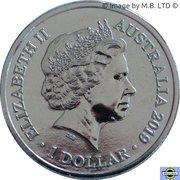 1 Dollar - Elizabeth (II ICC Cricket world Cup) – obverse