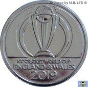 1 Dollar - Elizabeth (II ICC Cricket world Cup) – reverse