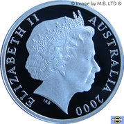 1 Dollar - Elizabeth II (4th Portrait - HMAS Sydney II - Silver Proof) -  obverse