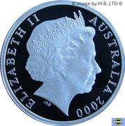 1 Dollar - Elizabeth II (HMAS Sydney II- Silver Proof Issue) – obverse