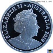 1 Dollar - Elizabeth II (6th Portrait - Australian Coinage Portrait 1998-2019 - Silver Proof) -  obverse