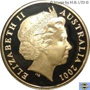 1 Dollar - Elizabeth II (4th Portrait - Federation Colourised Proof) -  obverse