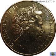 1 Dollar - Elizabeth II (4th Portrait - Navy Anniversary) -  obverse
