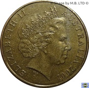 1 Dollar - Elizabeth II (4th Portrait - Volunteers) -  obverse