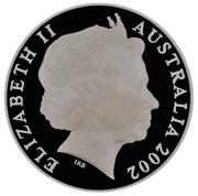 1 Dollar - Elizabeth II (4th Portrait - Melbourne Mint) -  obverse