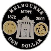 1 Dollar - Elizabeth II (Melbourne Mint) -  reverse
