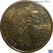 1 Dollar - Elizabeth II (Year of the Outback) -  obverse