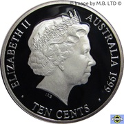 10 Cents - Elizabeth II (4th Portrait - Masterpieces in Silver - 1930 Penny) – obverse
