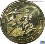 1 Dollar - Elizabeth II (4th Portrait - NRL - Moments That Matter) -  reverse