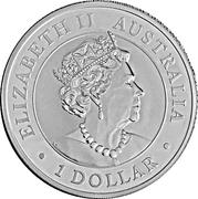 1 Dollar - Elizabeth II (6th Portrait - Australian Nugget) -  obverse