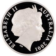5 Dollars - Elizabeth II (Kingston, Barton & Deakin) -  obverse