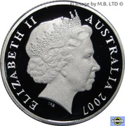 1 Dollar - Elizabeth II (4th Portrait - Surf Lifesaver - Silver Proof) -  obverse