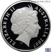 1 Dollar - Elizabeth II (Surf Lifesaver, Silver Proof) -  obverse