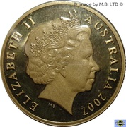 1 Dollar - Elizabeth II (4th Portrait - Year of the Surf Lifesaver) -  obverse