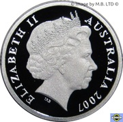 2 Dollars - Elizabeth II (4th portrait - Silver Proof) -  obverse