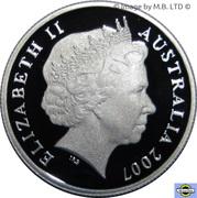 5 Cents - Elizabeth II (4th portrait - Fine Silver Proof) -  obverse