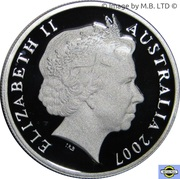 10 Cents - Elizabeth II (4th portrait, Silver Proof) -  obverse