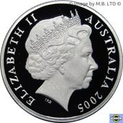1 Dollar - Elizabeth II (4th Portrait - Gallipoli - Silver Proof) -  obverse