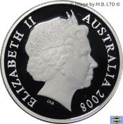 1 Dollar - Elizabeth II (4th Portrait - International Year of Planet Earth - Silver Proof) -  obverse