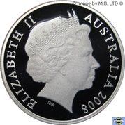 20 Cents - Elizabeth II (4th Portrait - International Year of Planet Earth - Fine Silver Proof) – obverse