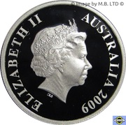 20 Cents - Elizabeth II (4th Portrait - 1966 Decimal Pattern) -  obverse