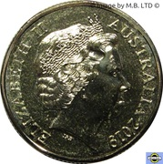 1 Dollar - Elizabeth II (4th Portrait - Mutiny & Rebellion - Mutiny on the Bounty) -  obverse