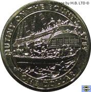 1 Dollar - Elizabeth II (4th Portrait - Mutiny on the Bounty) -  reverse