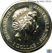 1 Dollar - Elizabeth II (4th Portrait - Treaty of Versailles) -  obverse