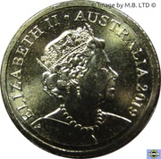 2 Dollars - Elizabeth II (6th Portrait) -  obverse