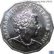 50 Cents - Elizabeth II (6th portrait) – obverse