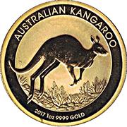 """100 Dollars - Elizabeth II (""""Kangaroo"""" Gold Bullion Coinage) -  reverse"""