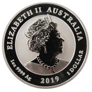 1 Dollar - Elizabeth II (6th Portrait - Double Dragon) -  obverse
