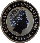 "1 Dollar - Elizabeth II (""Koala""; Gilded Edition) -  obverse"