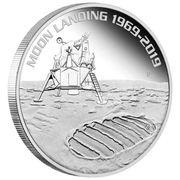 1 Dollar - Elizabeth II (Moon Landing) -  reverse