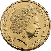 5 Cents - Elizabeth II (4th Portrait - 50th Anniversary Moon Landing) – obverse