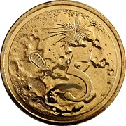5 Cents - Elizabeth II (4th Portrait - 50th Anniversary Moon Landing) – reverse