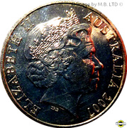 20 Cents - Elizabeth II (Surf Lifesaver) -  obverse