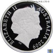 1 Dollar - Elizabeth II (4th Portrait - Australian Citizenship - Silver Proof Issue) -  obverse