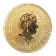 50 Dollars - Kangaroo (1/2 once gold) -  obverse