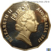 50 Cents - Elizabeth II (3rd portrait) -  obverse