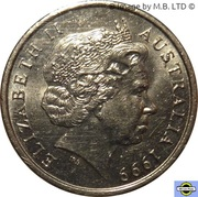 5 Cents - Elizabeth II (4th portrait) -  obverse