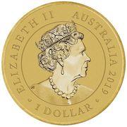 1 Dollar - Elizabeth II (Queen Victoria 200th Anniversary) -  obverse