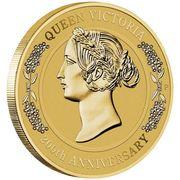 1 Dollar - Elizabeth II (Queen Victoria 200th Anniversary) -  reverse