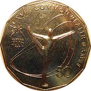 50 Cents - Elizabeth II (Gymnastics) -  reverse