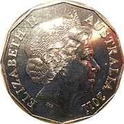 50 Cents - Elizabeth II (William and Kate) -  obverse