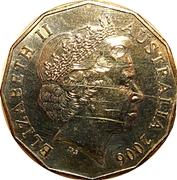 50 Cents - Elizabeth II (Badminton) -  obverse