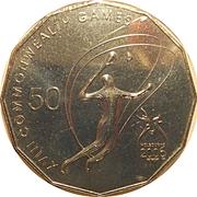 50 Cents - Elizabeth II (Badminton) -  reverse