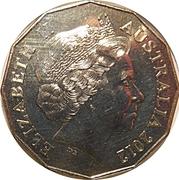 50 Cents - Elizabeth II (4th Portrait - Diamond Jubilee) – obverse
